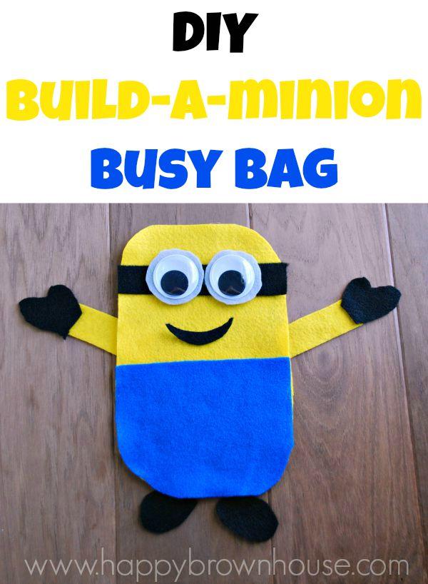 FREE Minion Busy bag