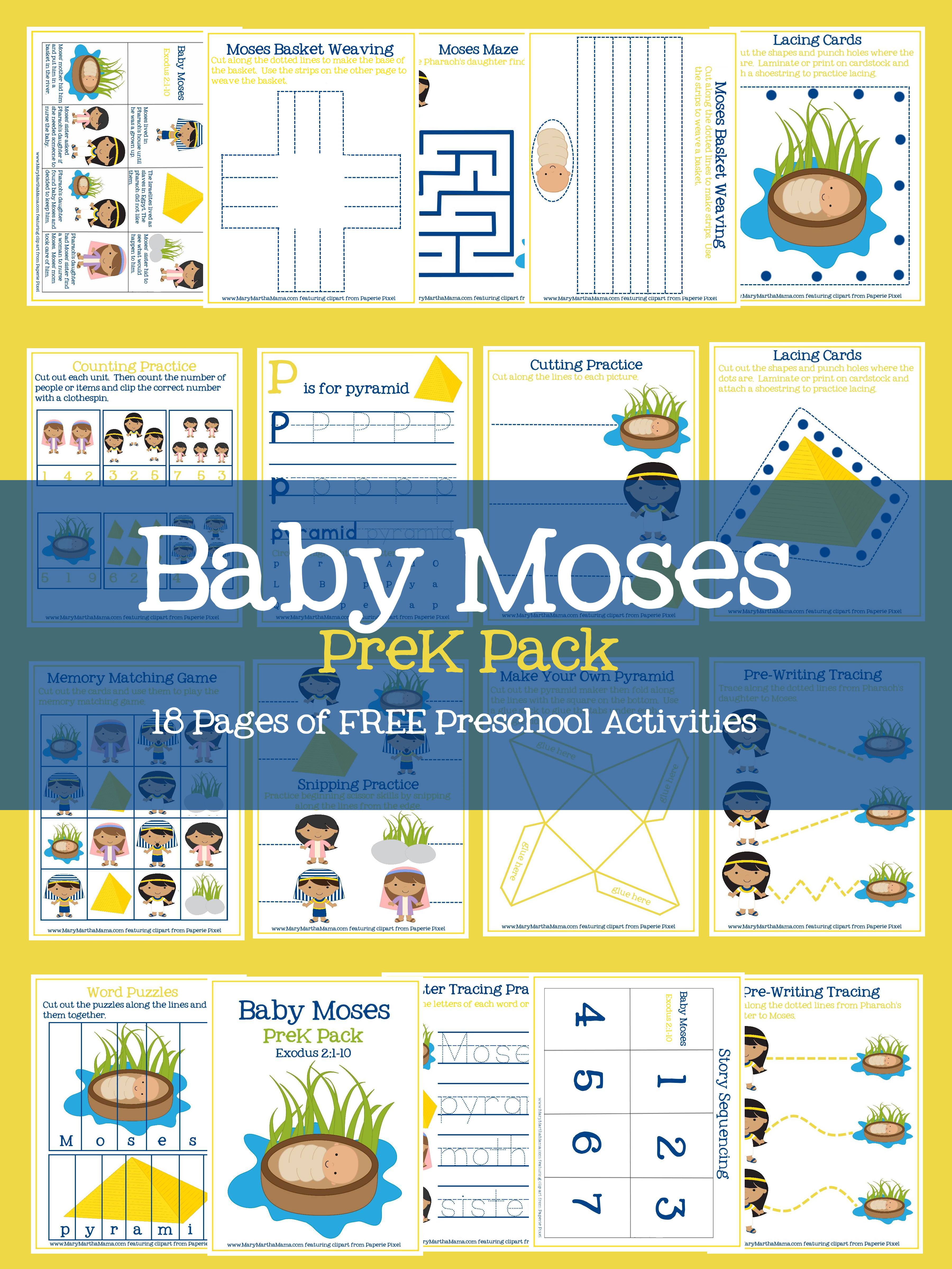 Amazing image throughout baby moses printable