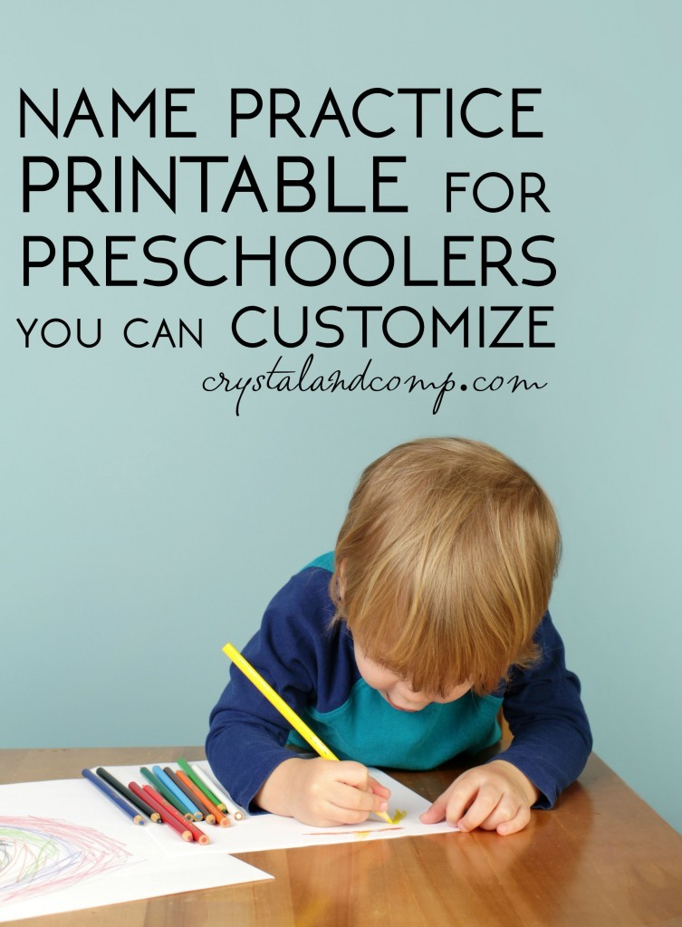 FREE Learn Your Name Printables | Free Homeschool Deals ©