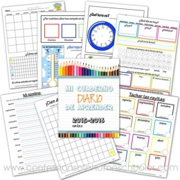 FREE Spanish Version Daily Learning Notebook