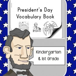 Free President's Day Vocabulary Mini-Book