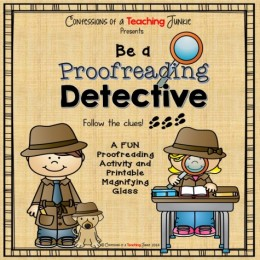 Be a Proofreading Detective – An Editing Activity FREEBIE!