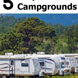 5 Ways to Save Money at Campgrounds {Roadschooling Series!}