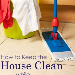 How to Keep the House Clean While Homeschooling – Includes 50+ Ideas!