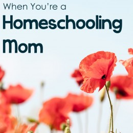 Why It's So Hard to Take Care of Yourself When You're a Homeschooling Mom