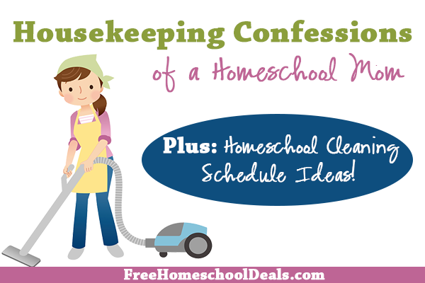 Housekeeping Confessions of a Homeschool Mom