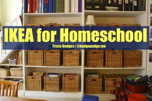 Ikea for Homeschool Spaces