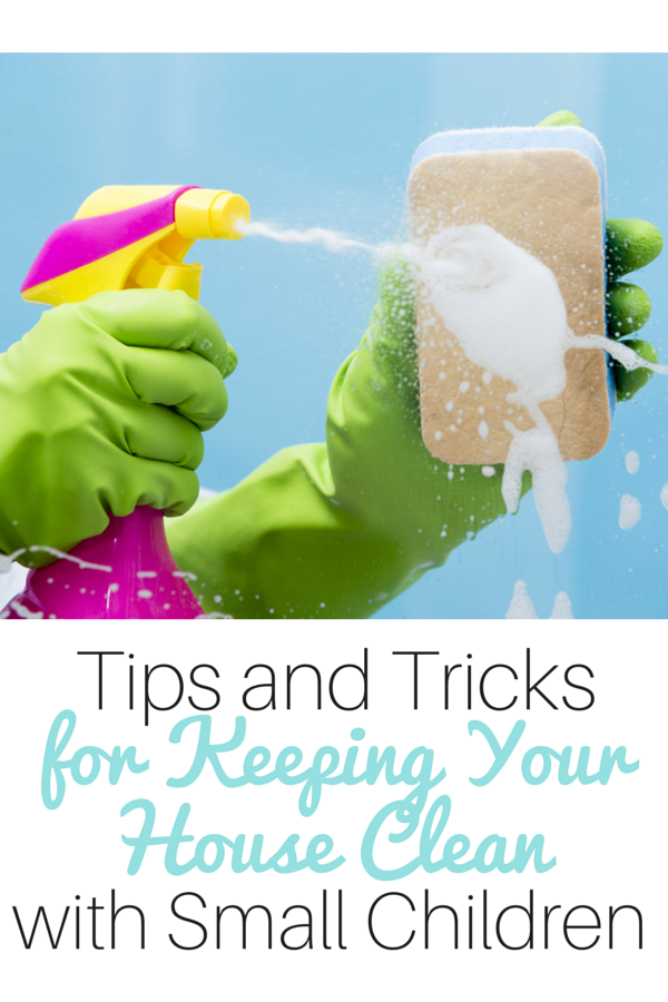 Tips for Keeping Your House Clean with Small Children Even While Homeschooling