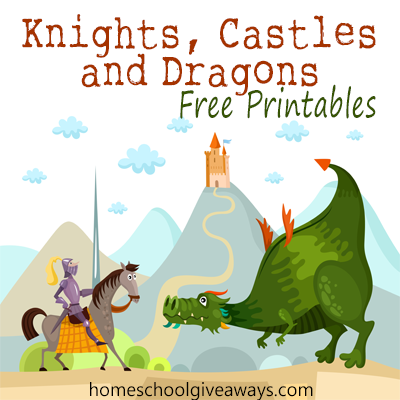 Free Knights Castles And Dragons Printables Free