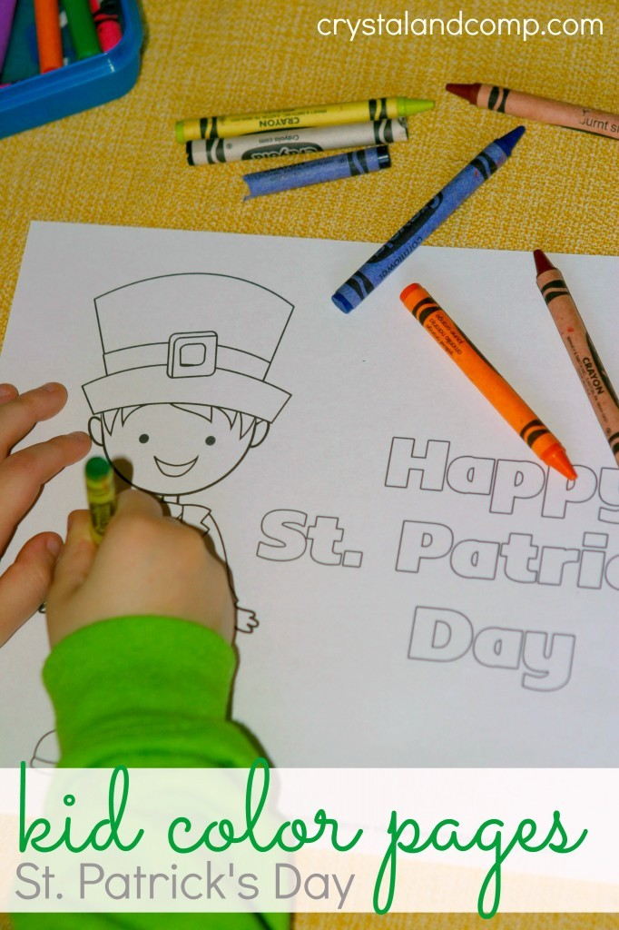 FREE St Patrick 39 s Day Coloring Pages Free Homeschool