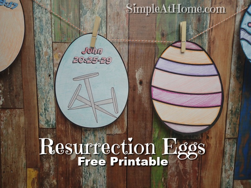 resurrection eggs story coloring pages - photo#34