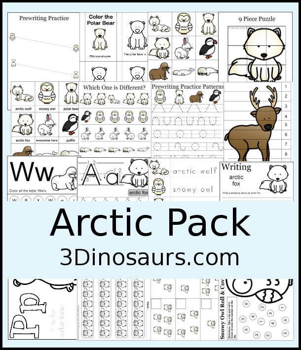 free arctic pack 65 pages free homeschool deals. Black Bedroom Furniture Sets. Home Design Ideas