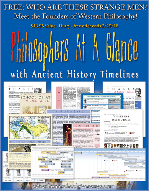 FREE Philosophers at a Glance Pack