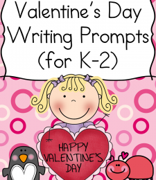 FREE Valentine's Day Writing Prompts for K-2