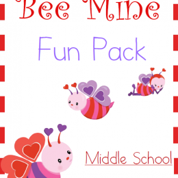 FREE Bee Mine Middle School Pack