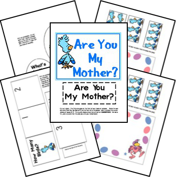 Free Are You My Mother Lapbook Free Homeschool Deals