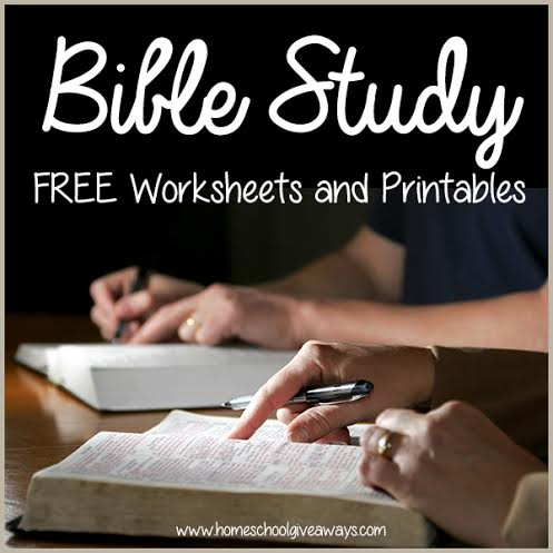 Printable bible worksheets for adults
