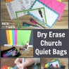 FREE Dry Erase Bag Printables