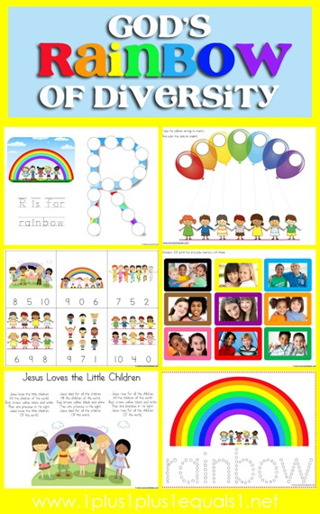 FREE Rainbows of Diversity pack