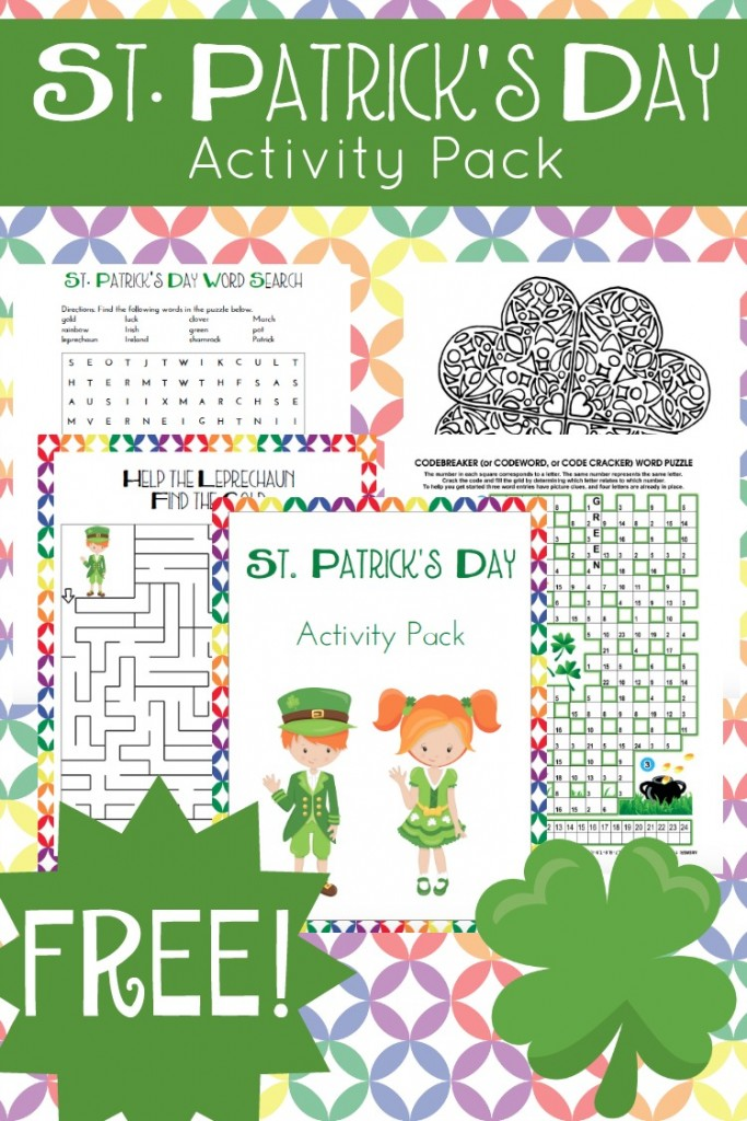 FREE St. Patrick's Day Pack