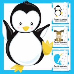FREE Arctic Animals Math Bundle ($10 Value!)