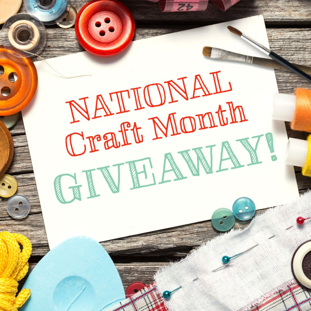 National craft month giveaway free homeschool deals for Craft of the month
