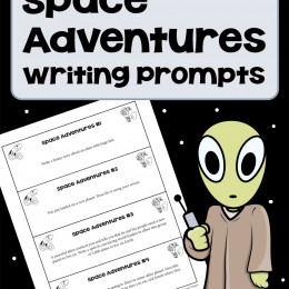 Free Space Adventures Writing Prompts