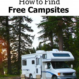How to Find Free Campsites {Roadschooling Series!}