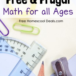 How to Homeschool for Free and Frugal: Math for All Ages