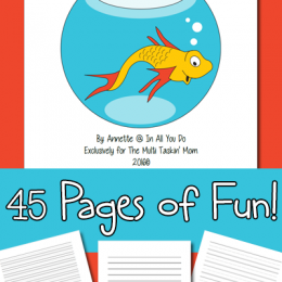 FREE Dr. Seuss Inspired Notebooking Pages