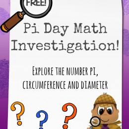 FREE Pi Day Investigation Pack