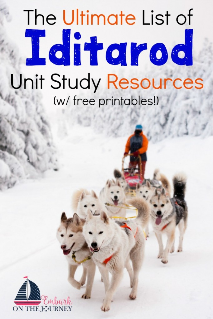 FREE Iditarod Unit Study Resources And Printables