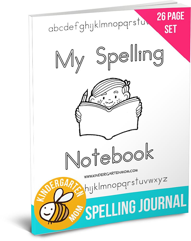 FREE My Spelling Notebook | Free Homeschool Deals ©