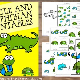 FREE Printable Reptiles and Amphibians Pack