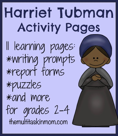 free harriet tubman unit study