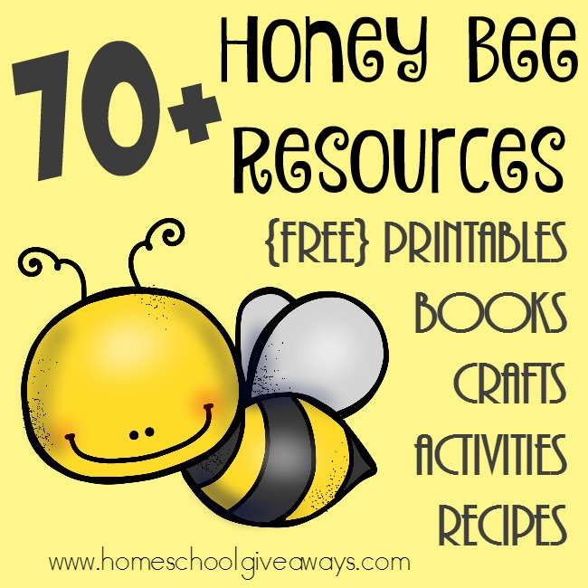 It is a graphic of Stupendous Honey Bee Printables