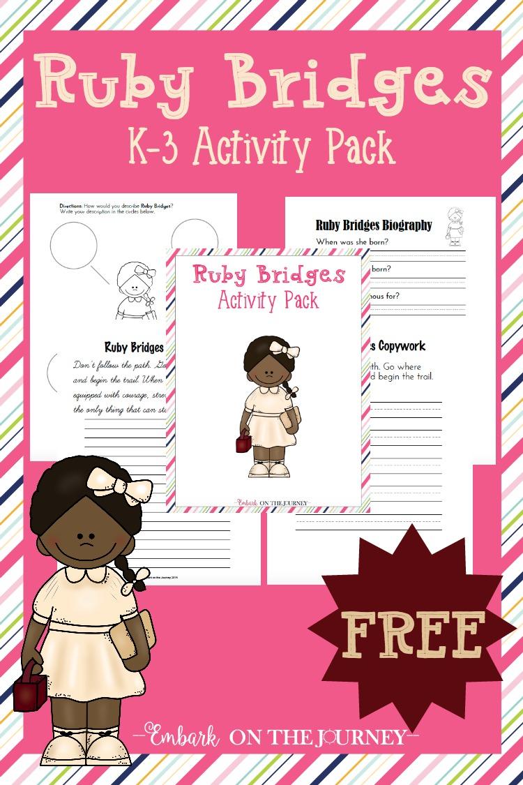 Free Ruby Bridges Pack Free Homeschool Deals