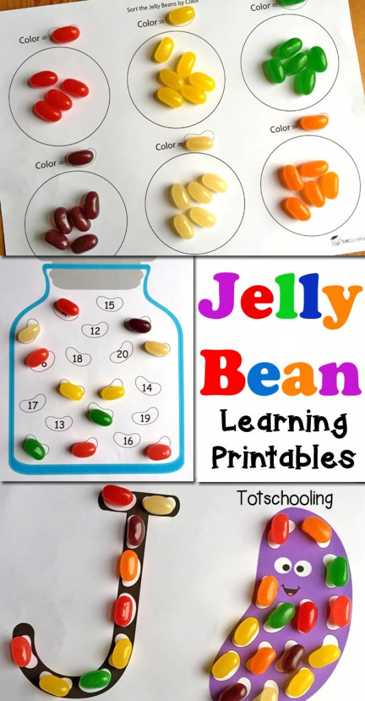 Free Jelly Bean Learning Printables Free Homeschool Deals