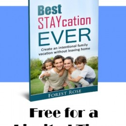 FREE eBook: Best Staycation Ever (Limited Time!)