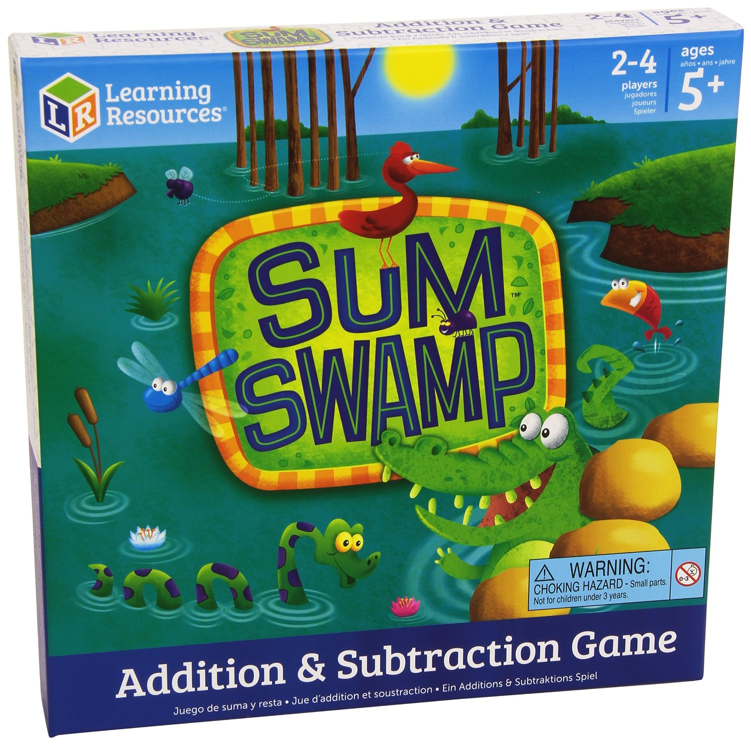 Learning Resources Sum Swamp Game Only $14! (Reg. $19)