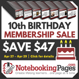Notebooking Pages Lifetime Membership Only $50! (Plus $100+ in Bonuses)
