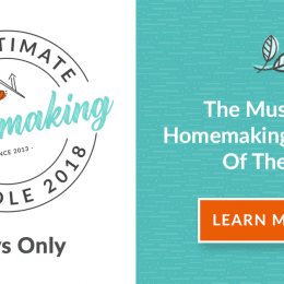 The Ultimate Homemaking Bundle 2018 Only $29.97 – Over $3500 Value!