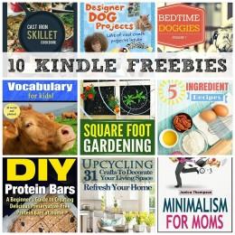 10 KINDLE FREEBIES: Vocabulary for Kids, Cast Iron Skillet Cookbook + More!