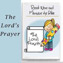 FREE Lord's Prayer Printable Pack