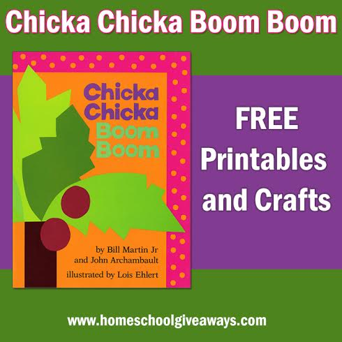 Magic image throughout chicka chicka boom boom printable