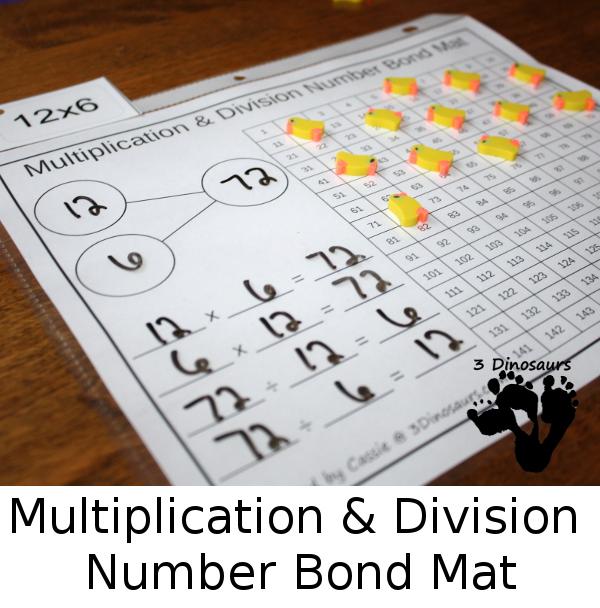 FREE Multiplication & Division Mats