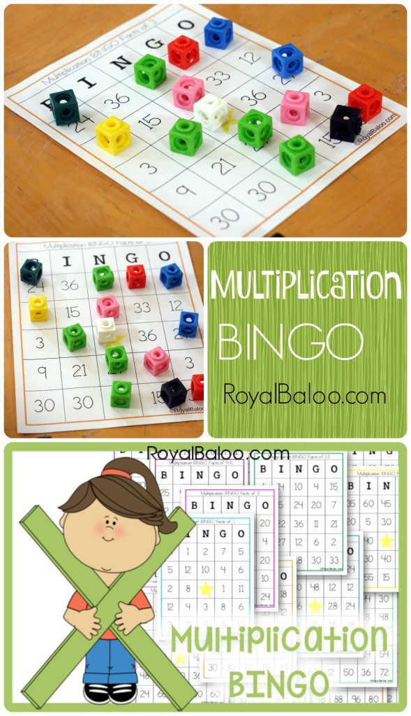 It is a graphic of Juicy Multiplication Bingo Printable
