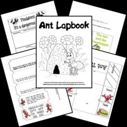 FREE Ant Lapbook
