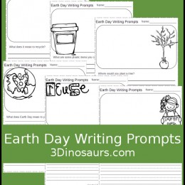 FREE Earth Day Writing Prompts