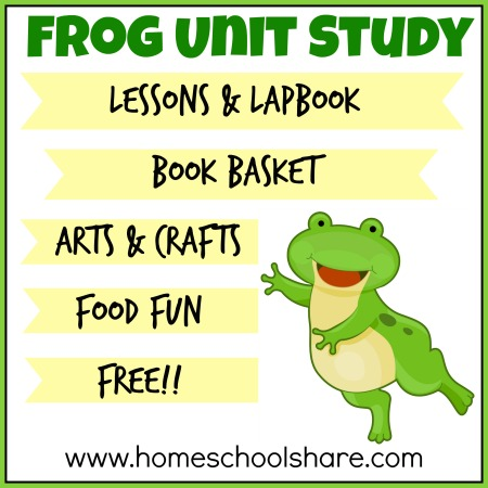 FREE Frog Lapbook And Unit Study